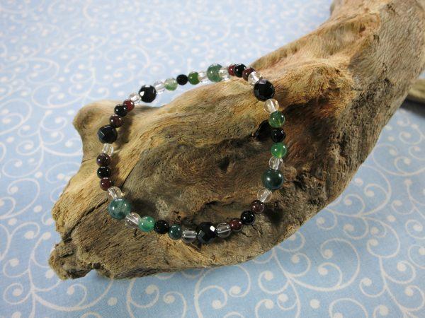 Granat Armband
