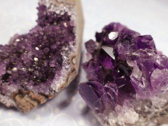 Amethyst Kristalldruse
