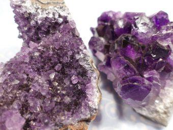 Amethyst Kristalldruse 2